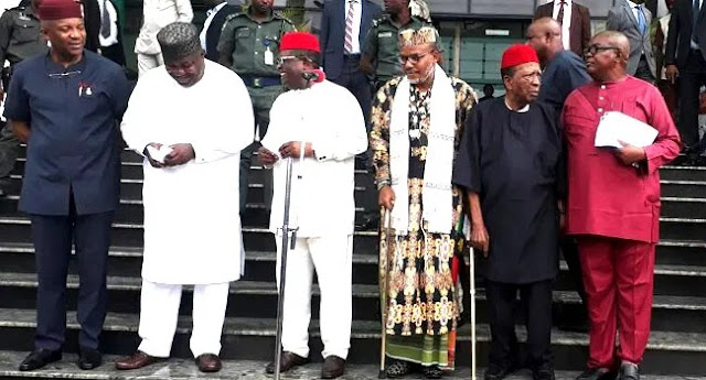IPOB: Nnamdi Kanu gets Igbos Support for Biafra after 12 Resolutions reached