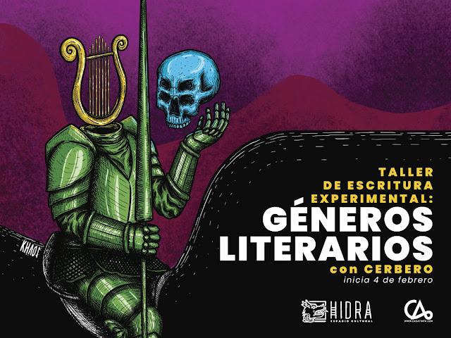 ESCRITURA EXPERIMENTAL: GÉNEROS LITERARIOS // 4 de feb