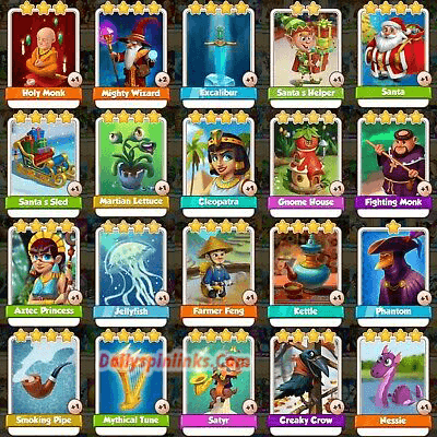 Cards Picture in coin master
