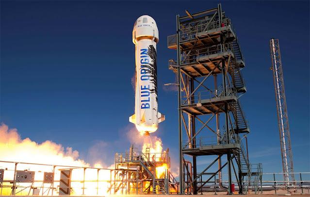 foguete new shepard da Blue Origin