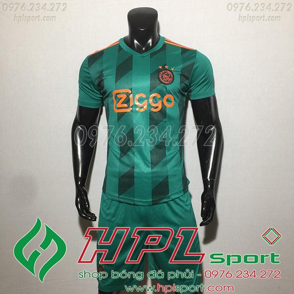 Áo bóng đá câu lạc bộ Ajax màu xanh 2020