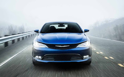 Chrysler 200 Sedan in road Hd Pictures