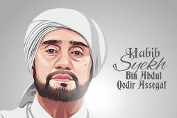 Tutorial Vector Habib Syekh bin Abdul Qodir Assegaf di Infinite Design PART 2 (Wajah dan janggut)