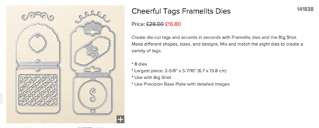 Cheerful Tags Framelits Dies Nigezza Creates