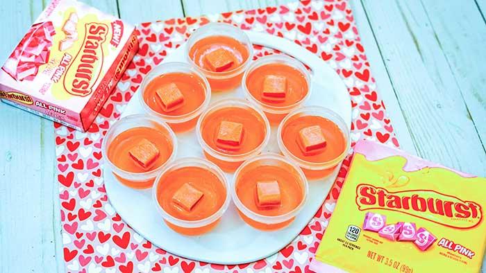 How to Make Strawberry Starburst Jello Shots