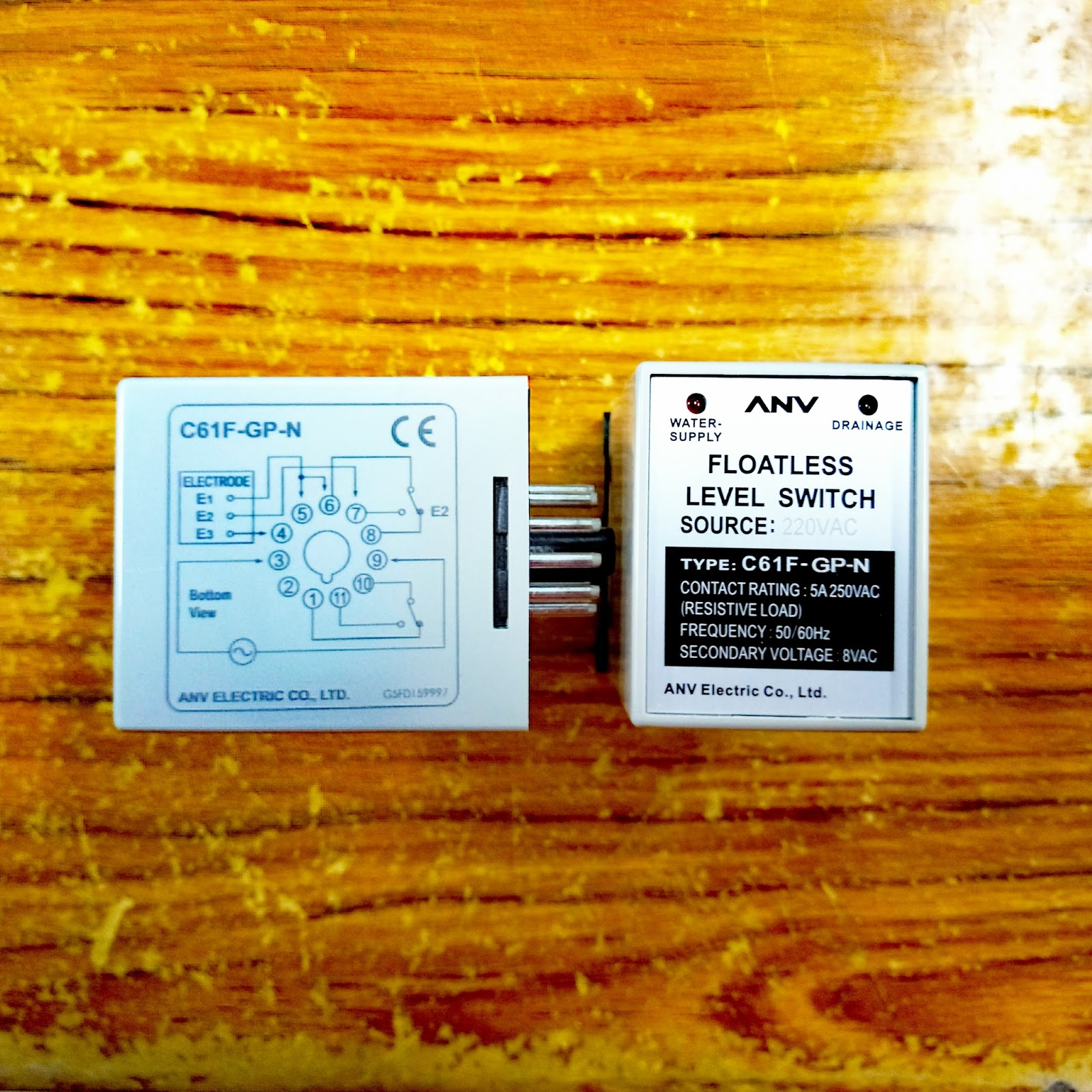 hight resolution of floatless level relay in hong kong market
