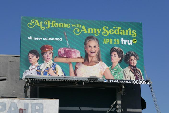 At Home Amy Sedaris season 3 billboard