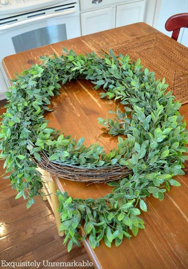 Grapevine Greenery Wreath