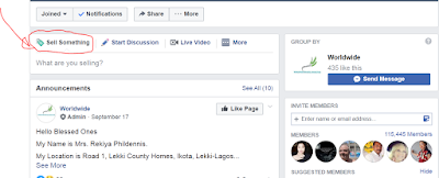 How To Sell Something In a Facebook buy and sell group