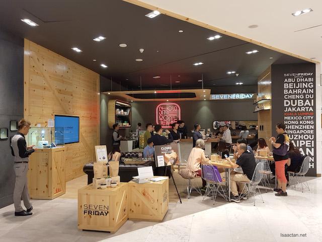 Cozy corner at  Level 2 of Robinsons at Four Seasons Place Kuala Lumpur