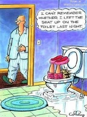 Toilets... - Walking on Sunshine