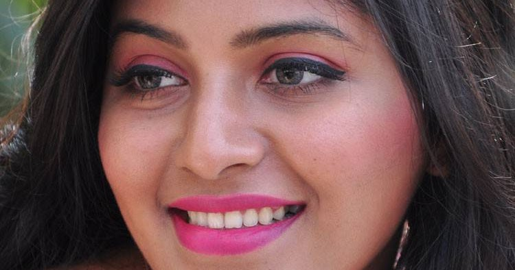 Anjali Latest Hot Stills In Blue Dress - Tollywood Stars