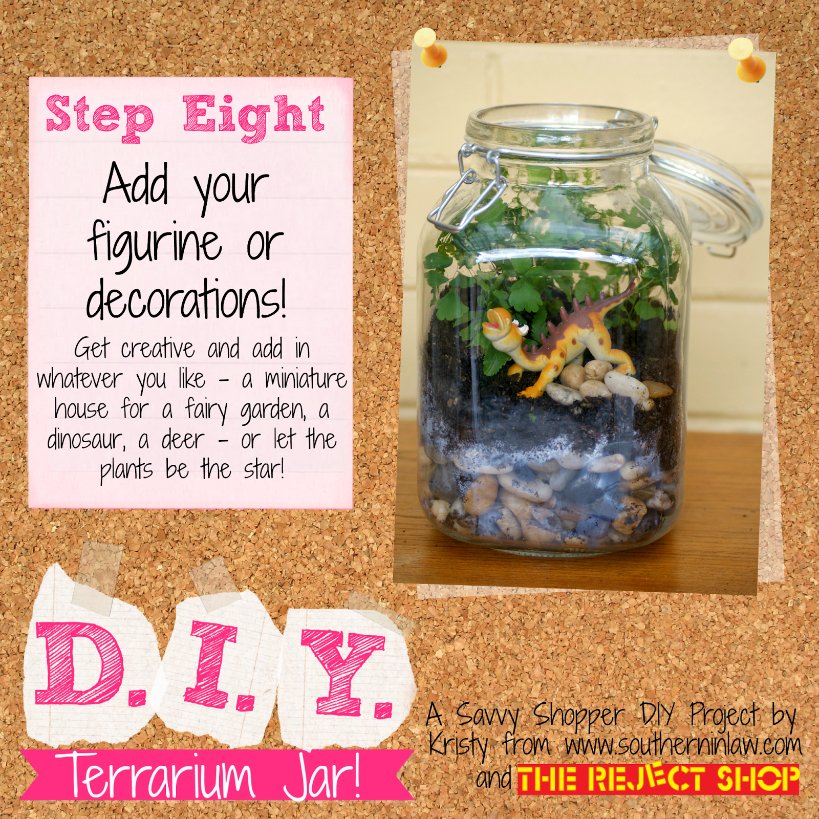 Christmas Lights At Reject Shop: Southern In Law: How To Make A Terrarium On A Budget