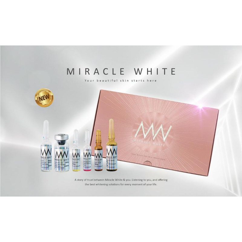 Miracle white pink (new glow composition)