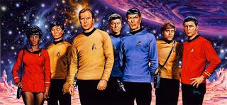 Star Trek Original Series Painting