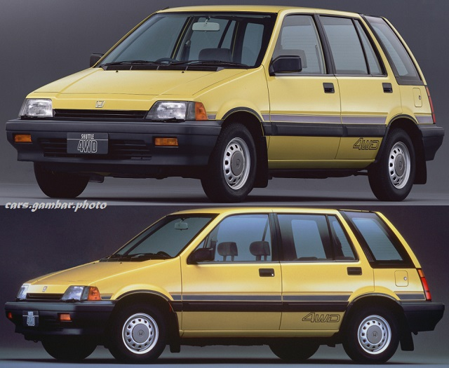 1985 Honda Civic Shuttle 4WD-J Yellow