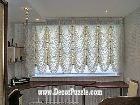 French curtain style for kitchen window, curtain styles 2017