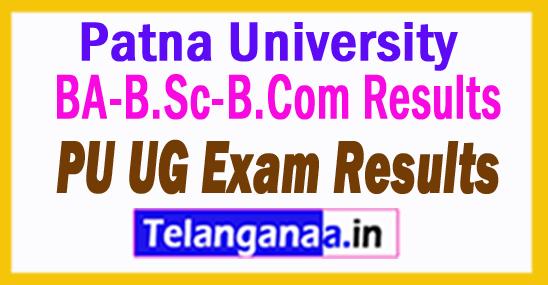 Patna University BA-B.Sc-B.Com Results 2018