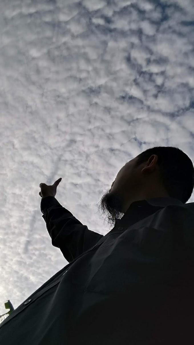 Awan Cirrocumulus di Langit Brebes