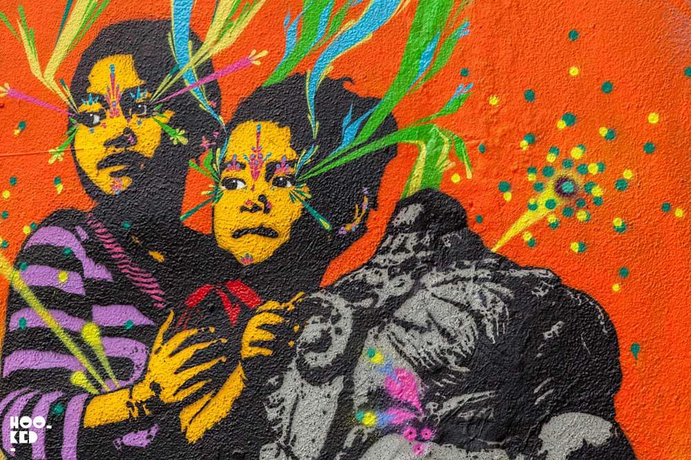 Street Art Tour of Brick Lane, London - Stinkfish