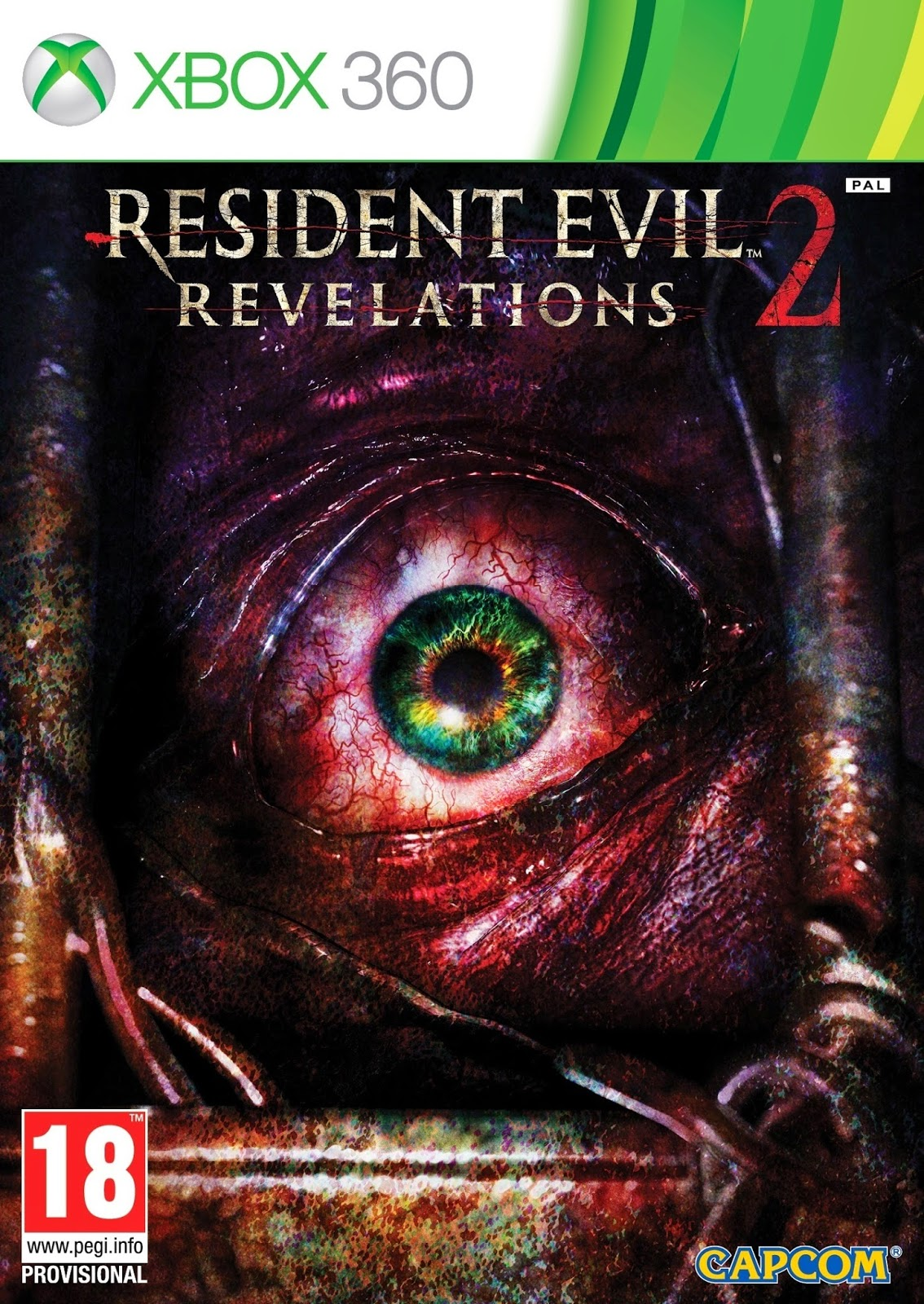 Resident Evil Revelations 2 XBOX 360 Cover Caratula