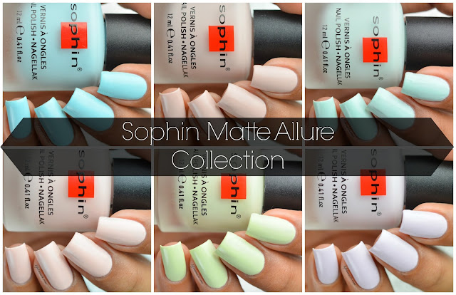 Sophin Matte Allure Collection