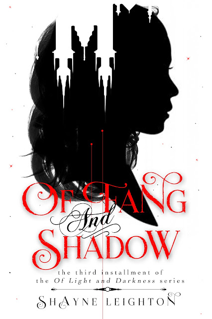 Cover Reveal: Of Fang And Shadow