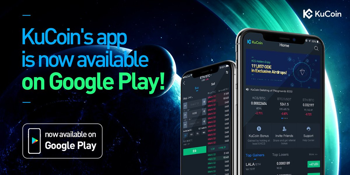 KuCoin Crypto wallet & Exchange For India