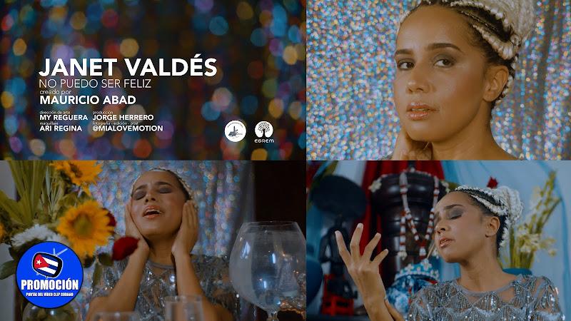 Janet Valdés - ¨No puedo ser feliz¨ - Videoclip - Director: Mauricio Abad. Portal Del Vídeo Clip Cubano. Música cubana. Bolero. Canción. Feeling. Cuba