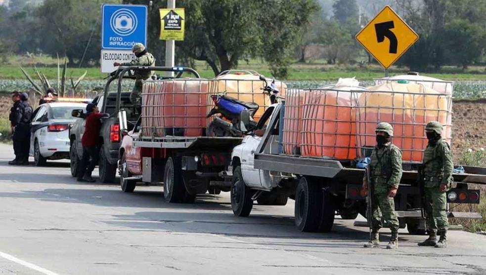 En la lucha contra el huachicol en Hidalgo, Guardia Nacional ha logrado el aseguramiento de 2 millones 862 mil 202 litros de combustible robado