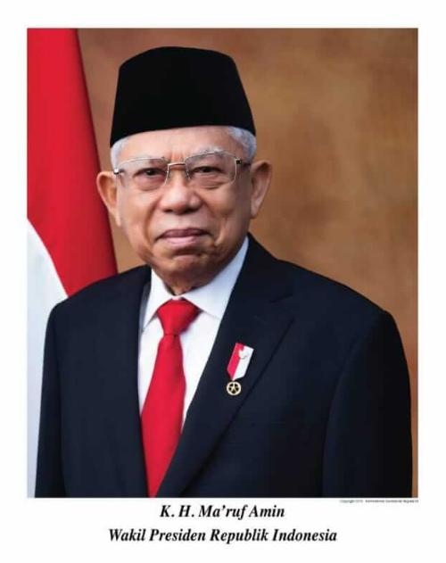 Download Foto Resmi Wakil Presiden Republik Indonesia 2019-2024