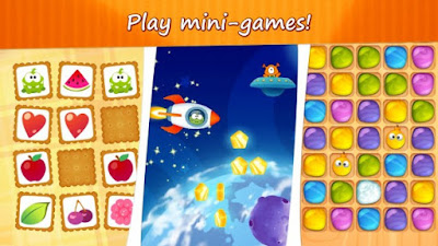 Download game My Om Nom Apk v1.5.3 (Mod Crystals)