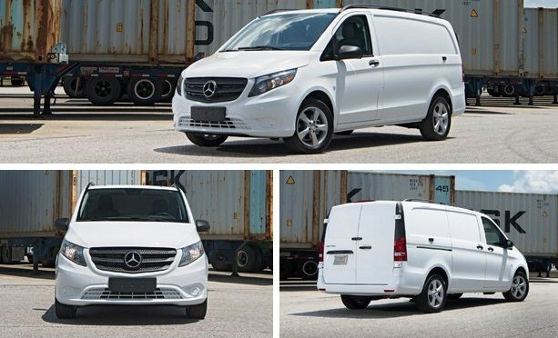 2016 Mercedes-Benz Metris Cargo Van Price UK