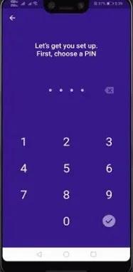 صورة إعداد PIN