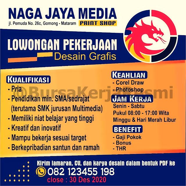 Lowongan Kerja Naga Jaya Media Mataram Lombok NTB