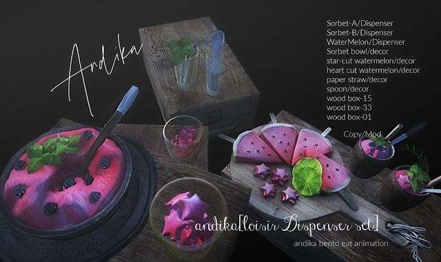 andika[loisir Dispenser set]@Summerfest