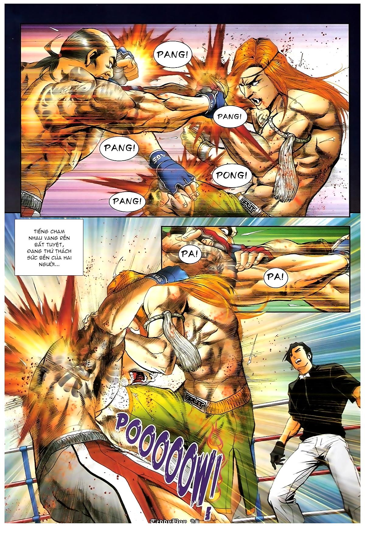 Người Trong Giang Hồ - Chapter 1253: Đánh gục Kim Mông Không - Pic 17