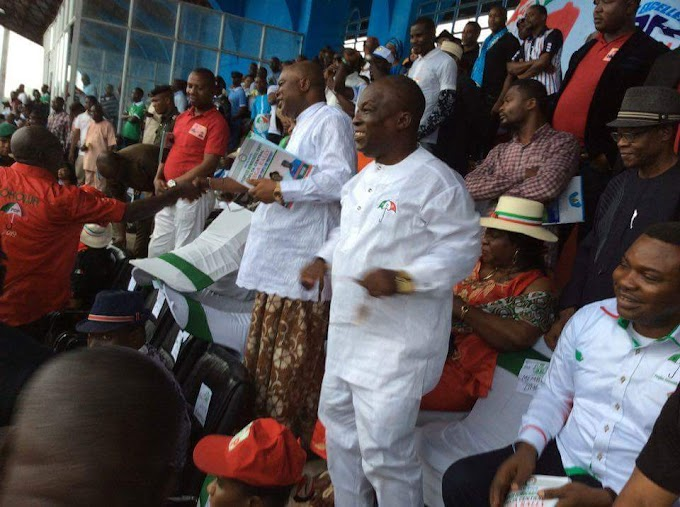 """With Uviejitobor, PDP will win Udu come 2019"" Says Okowa"