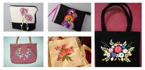 Jenis produk kriya tekstil terbagi menjadi dua kelompok yaitu Structural Technic dan Decorative Technic Kerajinan Tekstil