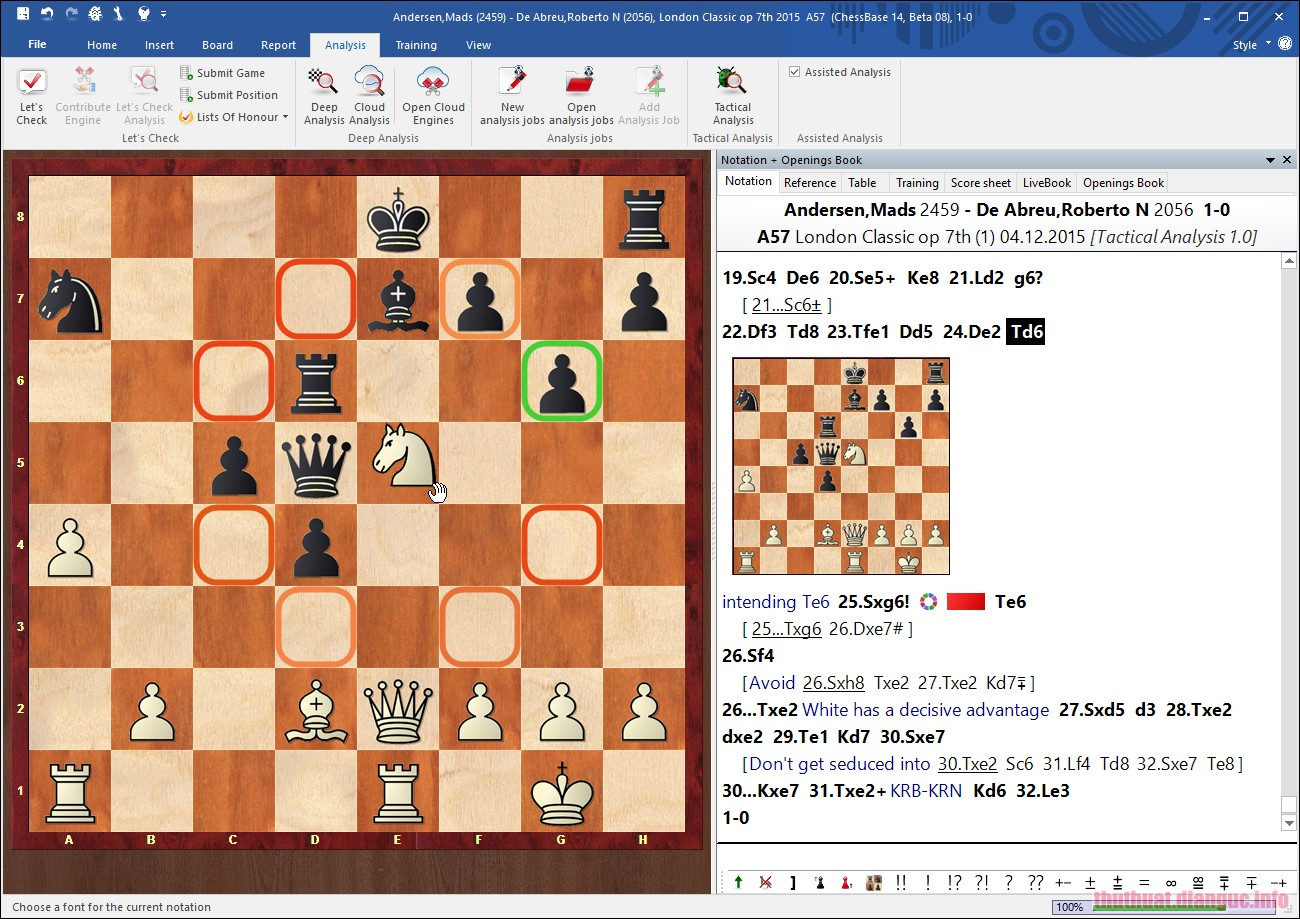Download ChessBase 15.9 + Database 2019 Full