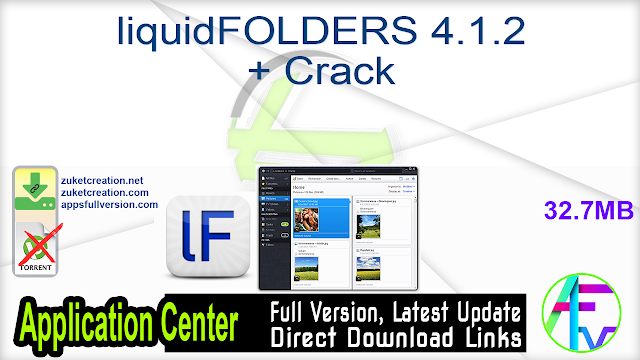 liquidFOLDERS 4.1.2 + Crack