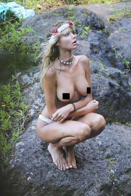 Hot girls Sahara Ray sexy skinny Justin Bieber's girlfriend