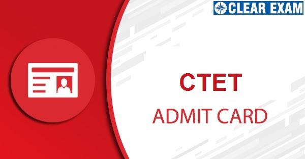 CTET Admit Card 2020