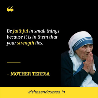 motivational quotes of the day mother teresa