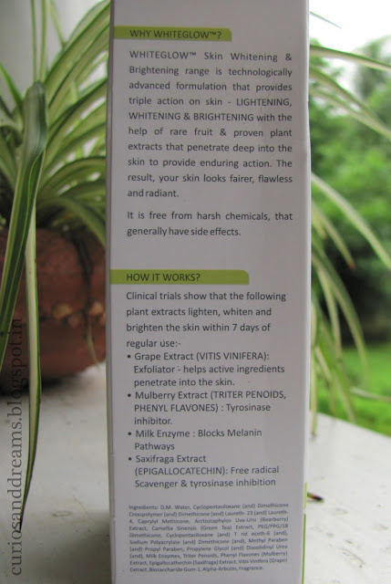Lotus Herbals Whiteglow Micro-Emulsion Review