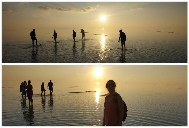 atardeceres sunset isla de Nilandhoo Maldivas