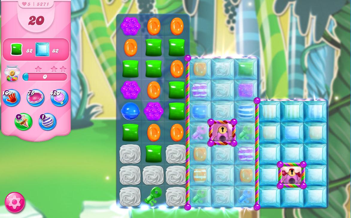 Candy Crush Saga level 5271
