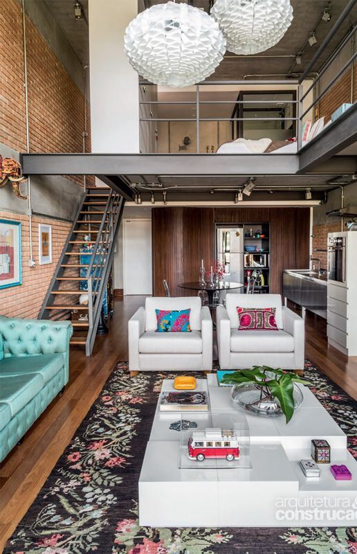 IMPRESSIVE INDUSTRIAL LOFTS THAT WILL STEAL THE SHOW 40+ Urban Style Interior Design Ideas
