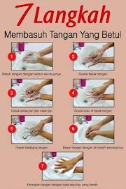 Bersihkan tangan dulu