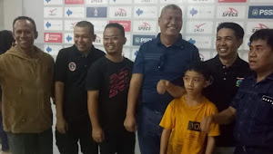 Bupati HBY Saksikan Langsung Laga Semifinal Piala Soeratin  di Stadion Gajayana Malang
